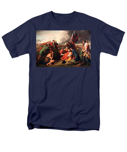 The Death Of General Wolfe Men's T-Shirt  (Regular Fit) by Benjamin West