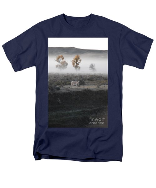Men's T-Shirt  (Regular Fit) featuring the photograph The Dream Cow Of Mourning by Brian Boyle