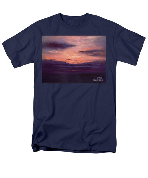 The End Of A Perfect Day Men's T-Shirt  (Regular Fit) by Valerie Travers