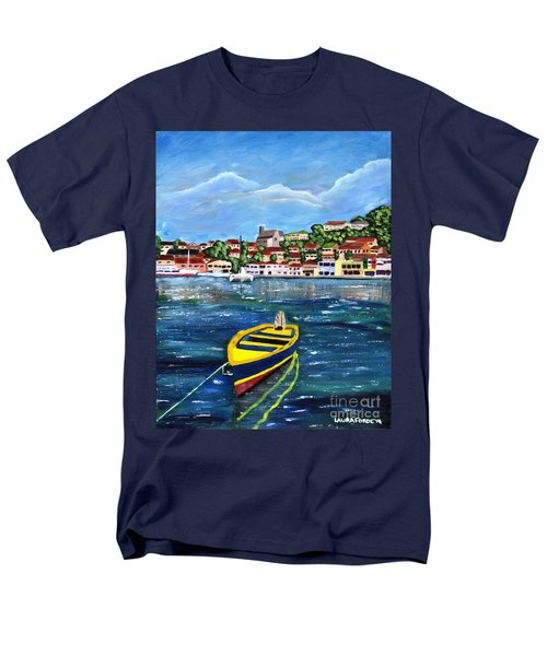 The Fishing Boat  Men's T-Shirt  (Regular Fit)