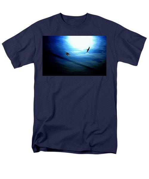 Men's T-Shirt  (Regular Fit) featuring the photograph The Flight by Miroslava Jurcik