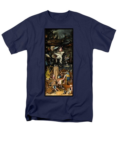 The Garden Of Earthly Delights. Right Panel Men's T-Shirt  (Regular Fit) by Hieronymus Bosch