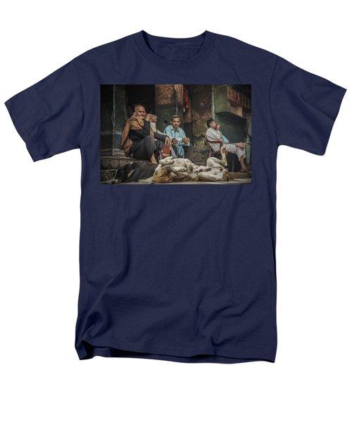 The Men Mourn Men's T-Shirt  (Regular Fit) by Valerie Rosen