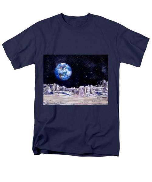 The Moon Rocks Men's T-Shirt  (Regular Fit) by Jack Skinner