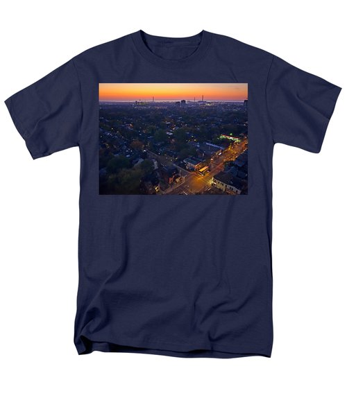 Men's T-Shirt  (Regular Fit) featuring the photograph The Morning Bus by Keith Armstrong