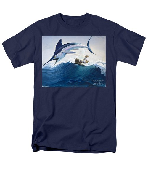 The Old Man And The Sea Men's T-Shirt  (Regular Fit) by Harry G Seabright