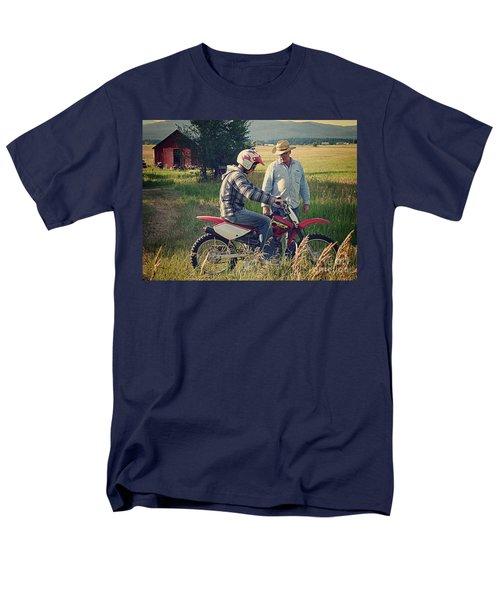 Men's T-Shirt  (Regular Fit) featuring the photograph The Teacher by Meghan at FireBonnet Art