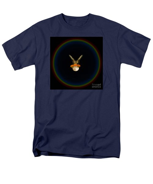 Men's T-Shirt  (Regular Fit) featuring the photograph The Tiger Has Landed by Donna Brown