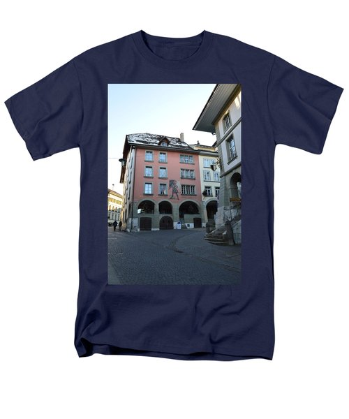 Men's T-Shirt  (Regular Fit) featuring the photograph The Upper Town by Felicia Tica