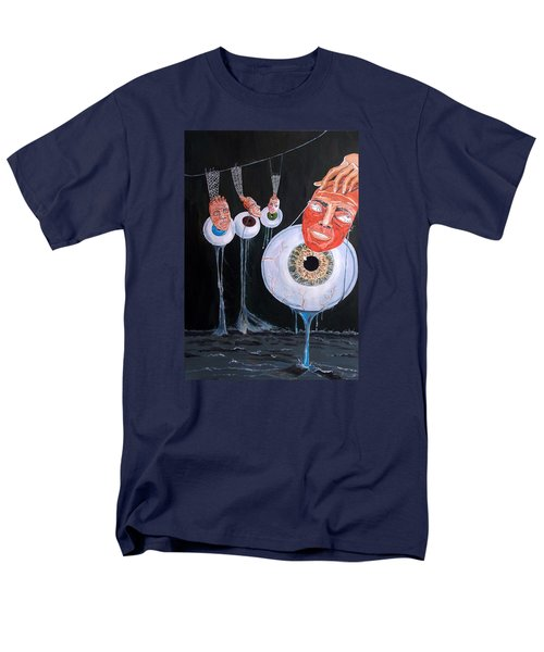 The Vision Behind The Structure Behind The Eyes Men's T-Shirt  (Regular Fit) by Lazaro Hurtado