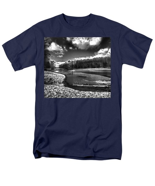 Men's T-Shirt  (Regular Fit) featuring the photograph To Grand Mother's House by Robert McCubbin