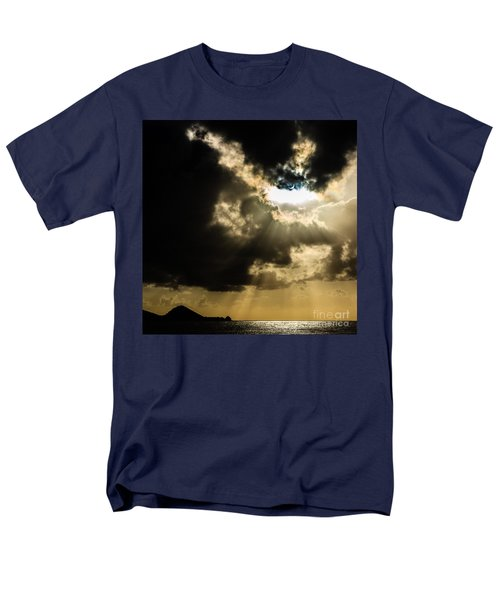 Total Solar Eclipse Breakthrough Men's T-Shirt  (Regular Fit) by Peta Thames