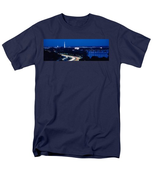 Traffic On The Road, Washington Men's T-Shirt  (Regular Fit) by Panoramic Images