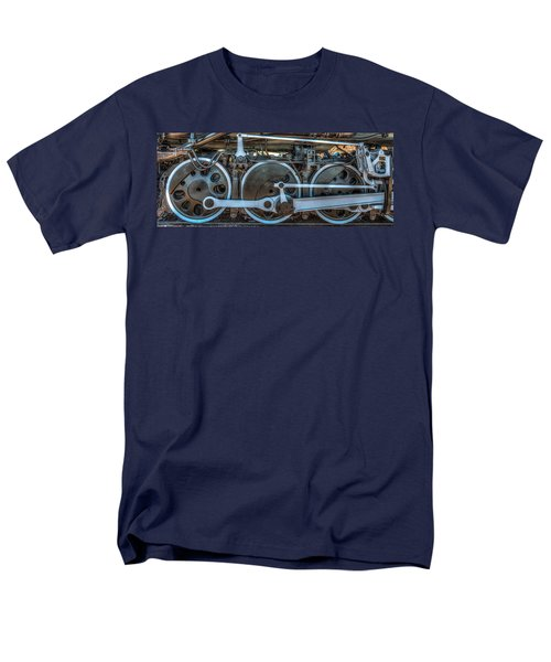 Train Wheels Men's T-Shirt  (Regular Fit) by Paul Freidlund