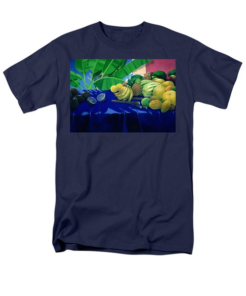 Tropical Fruit Men's T-Shirt  (Regular Fit) by Lincoln Seligman