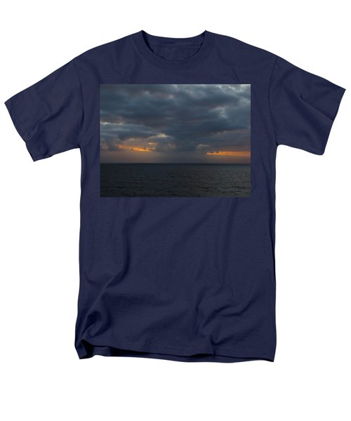 Men's T-Shirt  (Regular Fit) featuring the photograph Troubled Skies by Jennifer Wheatley Wolf