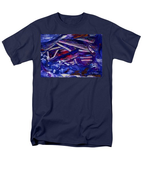 Tsunami Men's T-Shirt  (Regular Fit) by Dick Bourgault
