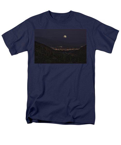 Tucson At Dusk Men's T-Shirt  (Regular Fit) by Lynn Geoffroy