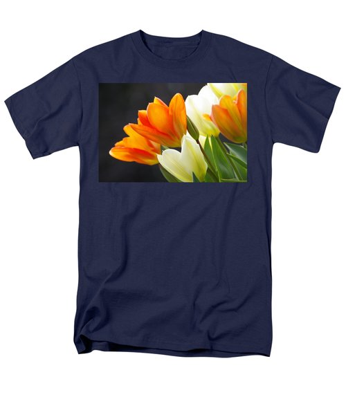 Men's T-Shirt  (Regular Fit) featuring the photograph Tulips by Marilyn Wilson