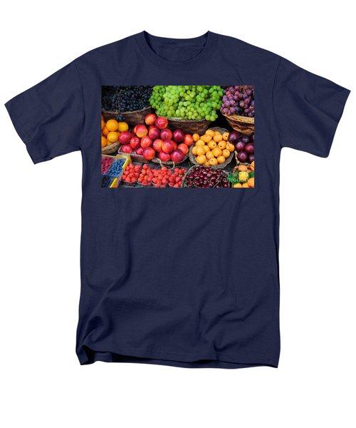 Tuscan Fruit Men's T-Shirt  (Regular Fit) by Inge Johnsson