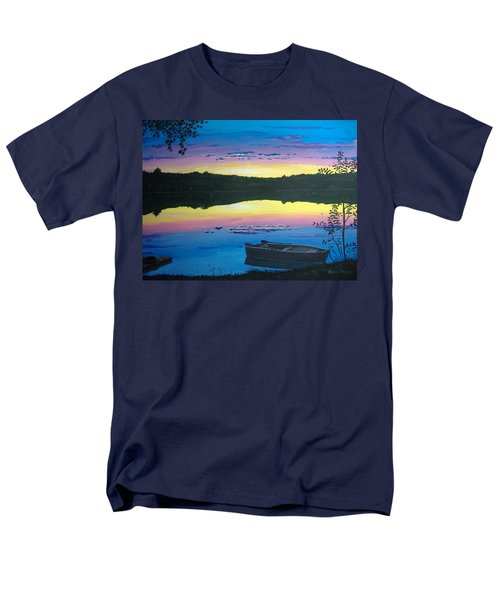 Twilight Quiet Time Men's T-Shirt  (Regular Fit) by Norm Starks