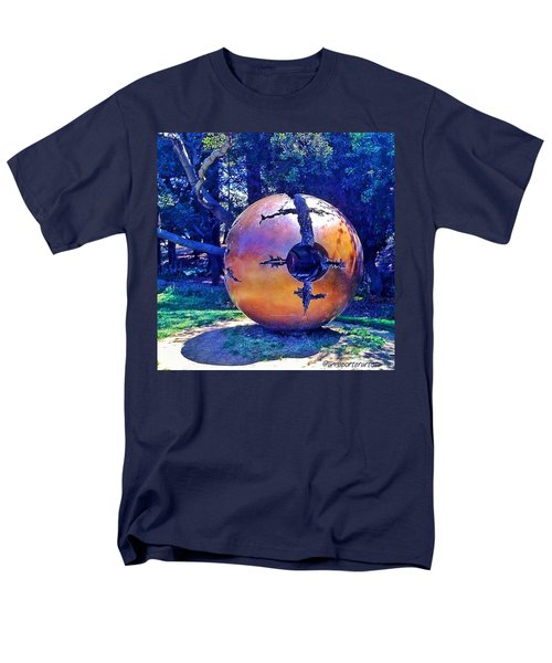 Uc Berkeley Orb For The Men's T-Shirt  (Regular Fit) by Anna Porter