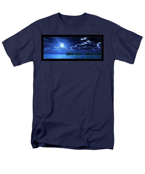 Under A Silvery Moon... Men's T-Shirt  (Regular Fit)