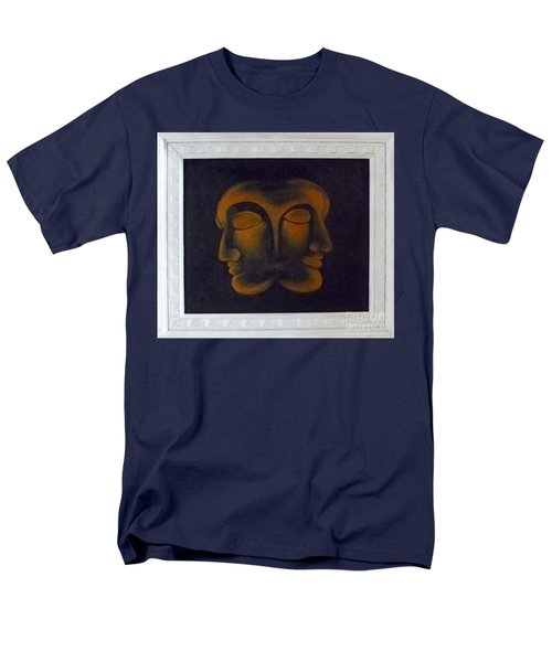 Men's T-Shirt  (Regular Fit) featuring the painting Us by Fei A