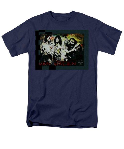 Van Halen - Ain't Talkin' 'bout Love Men's T-Shirt  (Regular Fit) by Absinthe Art By Michelle LeAnn Scott