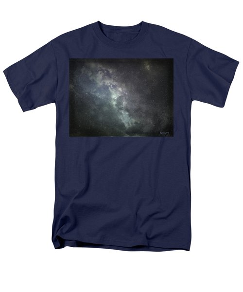 Men's T-Shirt  (Regular Fit) featuring the photograph Vast Universe by Cynthia Lassiter