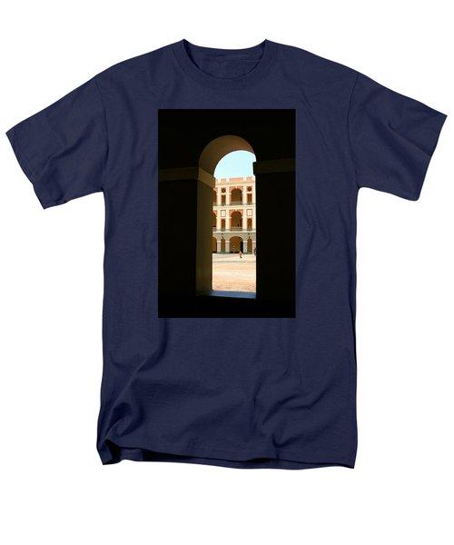 Ventana De Arco Men's T-Shirt  (Regular Fit) by The Art of Alice Terrill