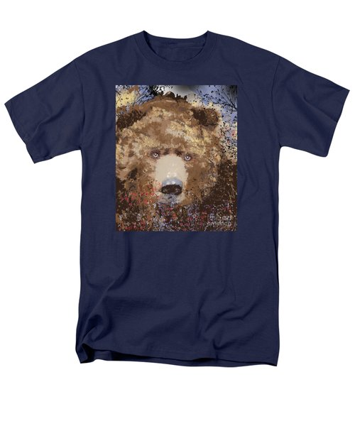 Visionary Bear Men's T-Shirt  (Regular Fit) by Kim Prowse