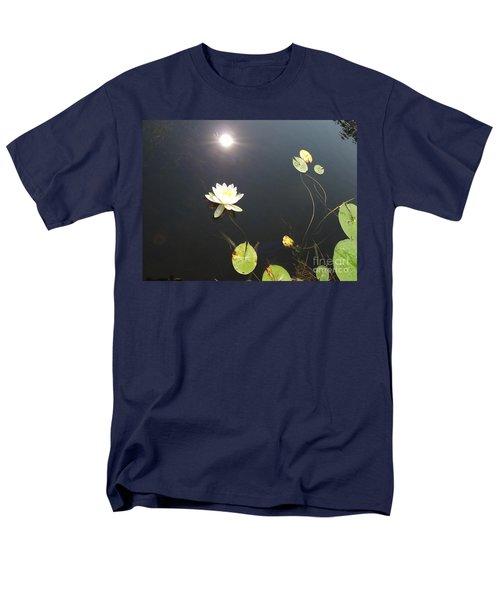 Water Lily Men's T-Shirt  (Regular Fit) by Laurel Best