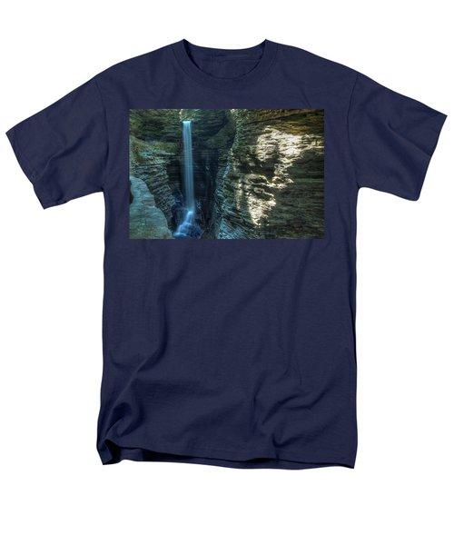 Watkins Glen Men's T-Shirt  (Regular Fit) by Dave Files