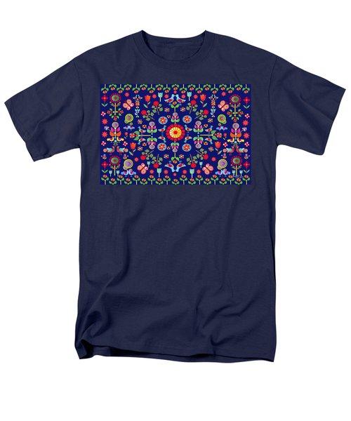Wayuu Tapestry Men's T-Shirt  (Regular Fit) by Gabriela Delgado