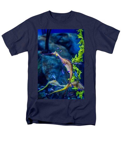 Weedy Seadragon Men's T-Shirt  (Regular Fit) by Alex Grichenko