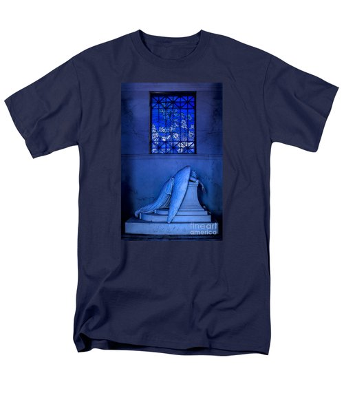 Weeping Angel Men's T-Shirt  (Regular Fit) by Jerry Fornarotto
