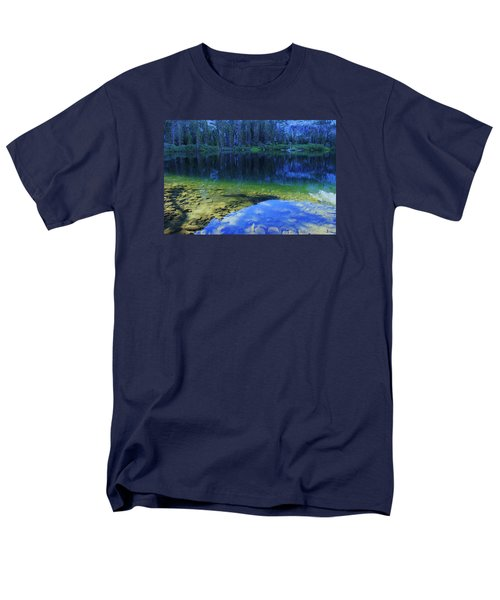 Men's T-Shirt  (Regular Fit) featuring the photograph Welcome To Eagle Lake by Sean Sarsfield