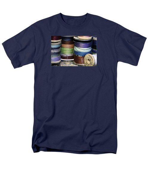 Spools Of Thread Men's T-Shirt  (Regular Fit) by Jean OKeeffe Macro Abundance Art