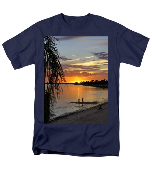 Men's T-Shirt  (Regular Fit) featuring the photograph Whiskey Joe's by Laurie Perry