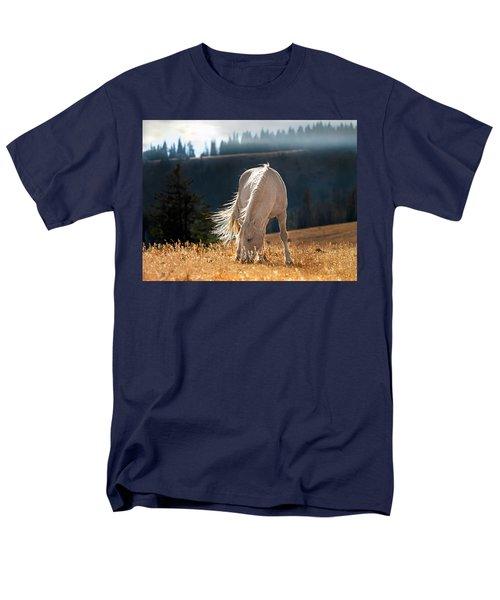 Wild Horse Cloud Men's T-Shirt  (Regular Fit) by Leland D Howard