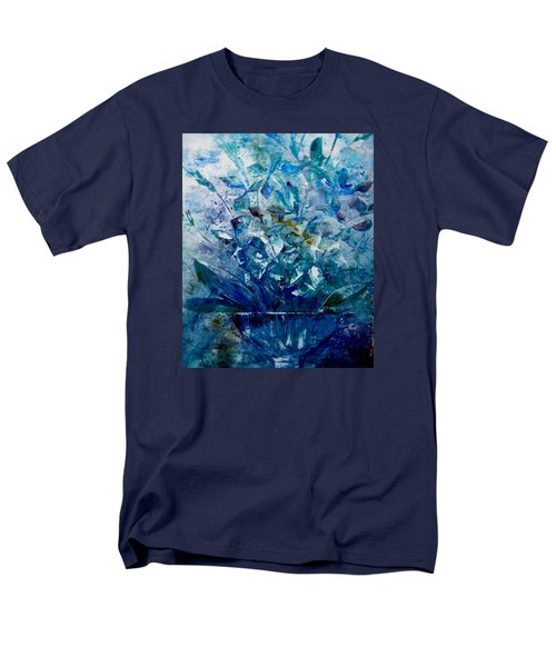 Men's T-Shirt  (Regular Fit) featuring the painting Winter Bouquet by Lisa Kaiser