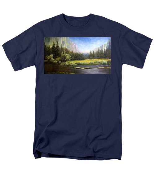 Yosemite Men's T-Shirt  (Regular Fit) by Loxi Sibley
