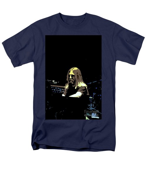 Men's T-Shirt  (Regular Fit) featuring the photograph Brent Mydland Of The Grateful Dead by Susan Carella