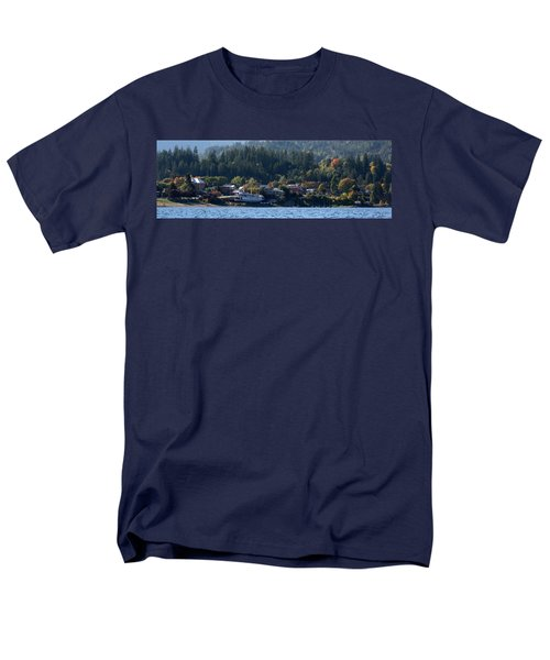 Men's T-Shirt  (Regular Fit) featuring the photograph Home Sweet Kaslo by Cathie Douglas