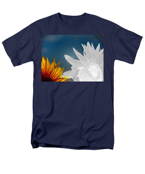 Now And Then  Men's T-Shirt  (Regular Fit) by Lenore Senior