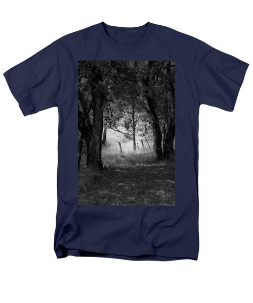 Through The Trees  Men's T-Shirt  (Regular Fit) by Kathleen Grace