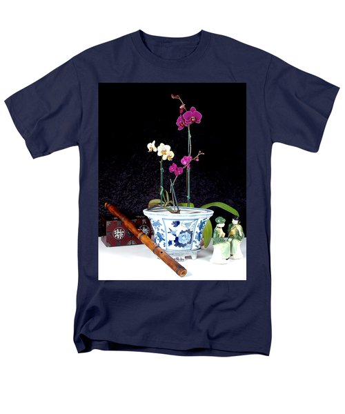 Men's T-Shirt  (Regular Fit) featuring the photograph Rendezvous by Elf Evans