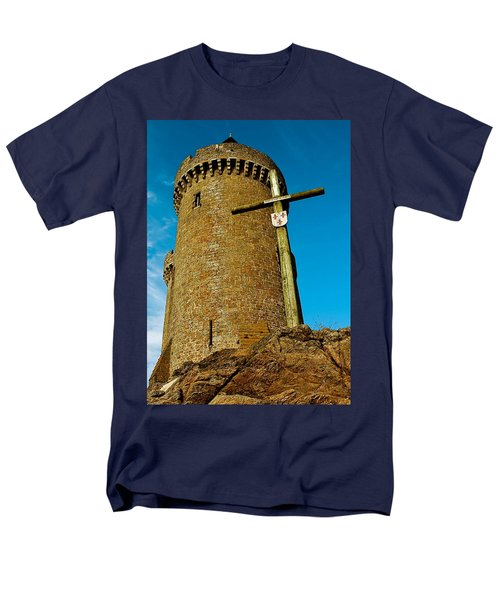 Men's T-Shirt  (Regular Fit) featuring the photograph Solidor And Cross by Elf Evans