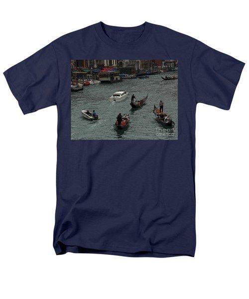 Along The Canal Men's T-Shirt  (Regular Fit) by Vivian Christopher